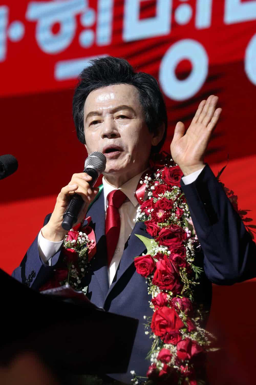 허경영 국가 혁명당 대표 ⓒ 갓잇코리아
