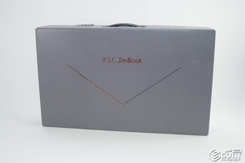 에이수스 'ZenBook 15' 패키지. 세계에서 가장 콤펙트하다는 것을 잘 표현했다 ⓒ 갓잇코리아