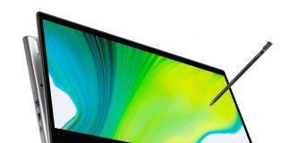 에이서, 액티브 스타일러스 펜 탑재한 컨버터블 노트북 '스핀 5' 과 '스핀 3' 선보여