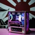 블랙핑크 에디션 PC 뒤에 욱일기 논란...AMD '묵묵부답'