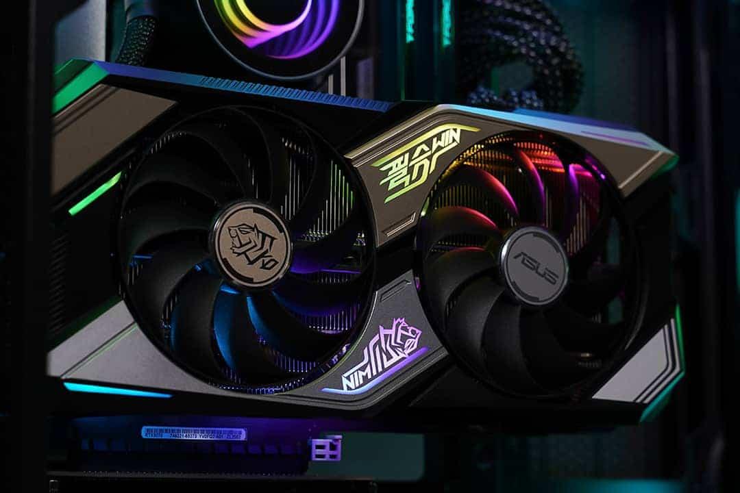 ASUS KO Gaming GeForce RTX™ 3070 : AURA Sync RGB