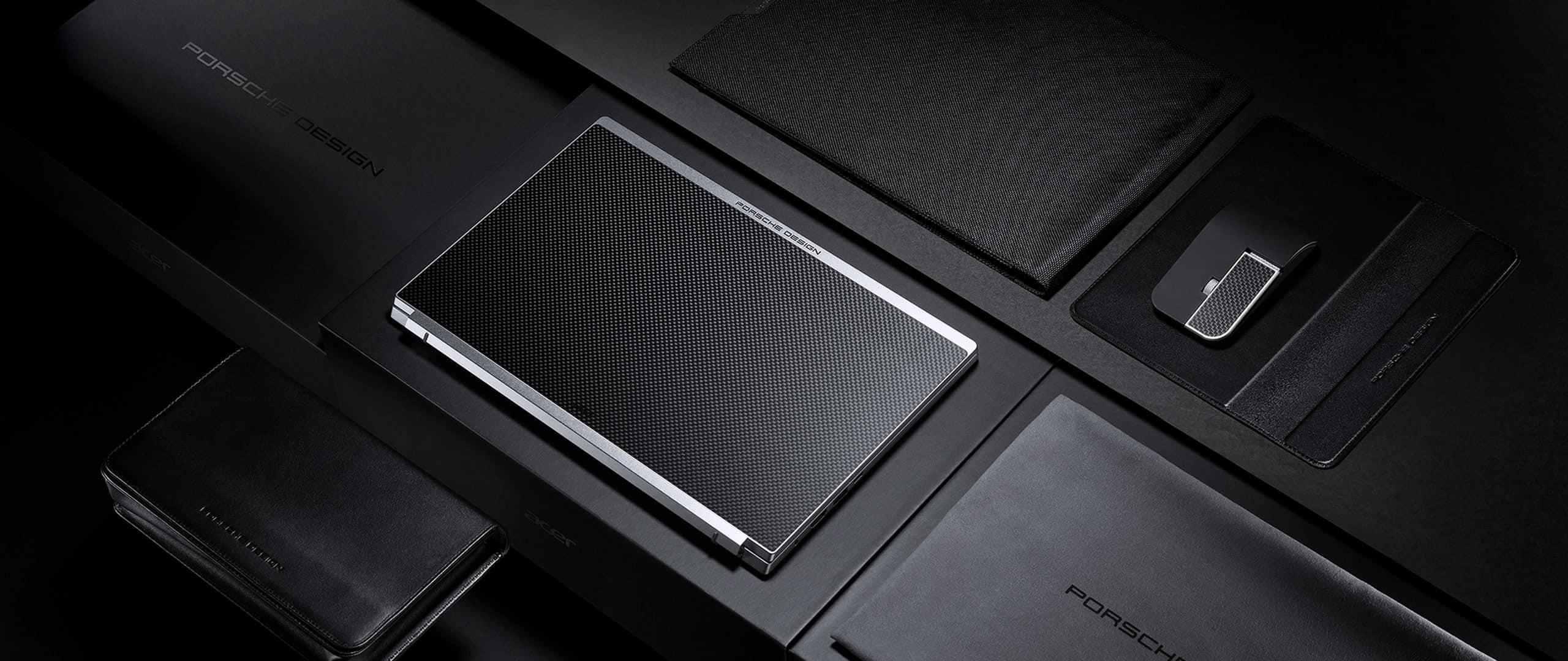 남다른 디자인...에이서 포르쉐와 협력한 'Acer Book RS'