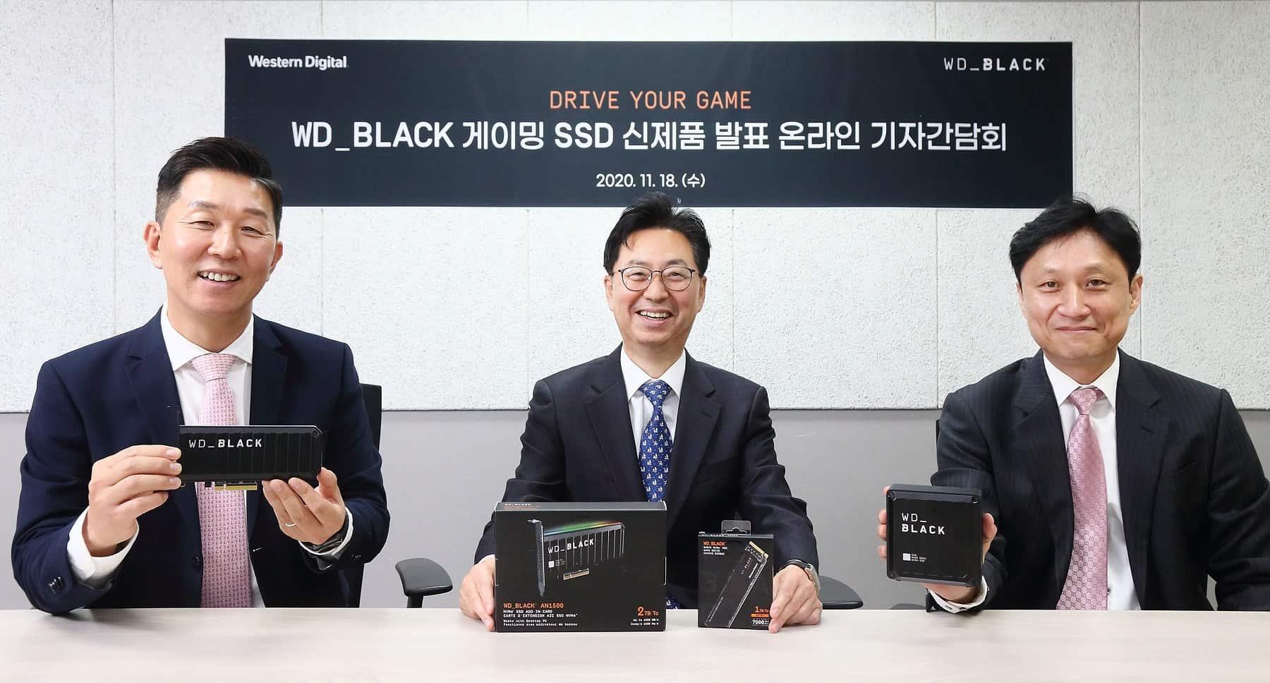 고성능 게이밍에 최적화...웨스턴디지털 'WD블랙' SSD 솔루션 3종 공개