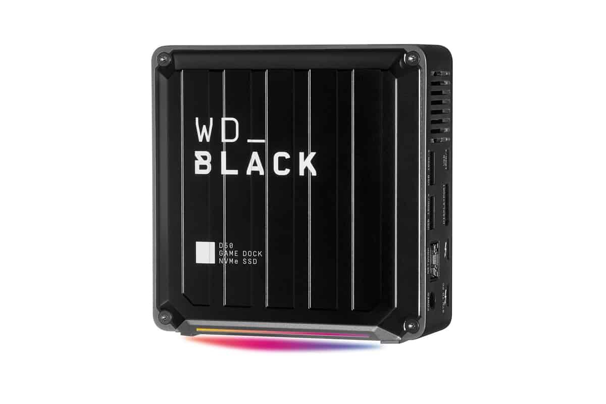 WD BLACK D50 게임 독 NVMe SSD