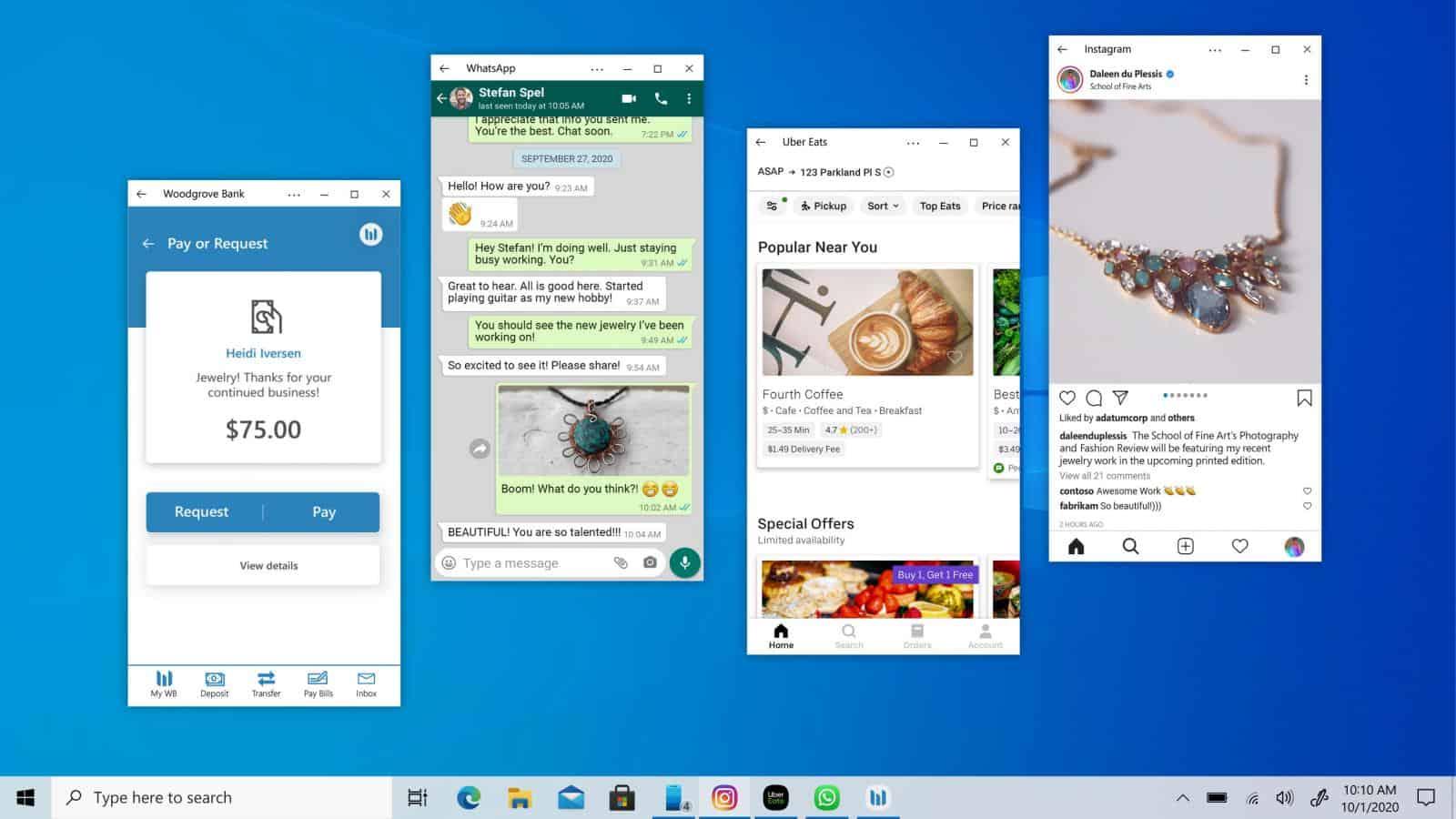 내년부터 윈도우10에서 안드로이드 어플 실행 가능할까