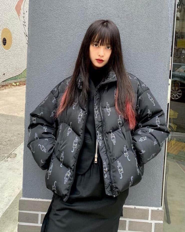 포인트 패딩_김보라 인스타그램 출처