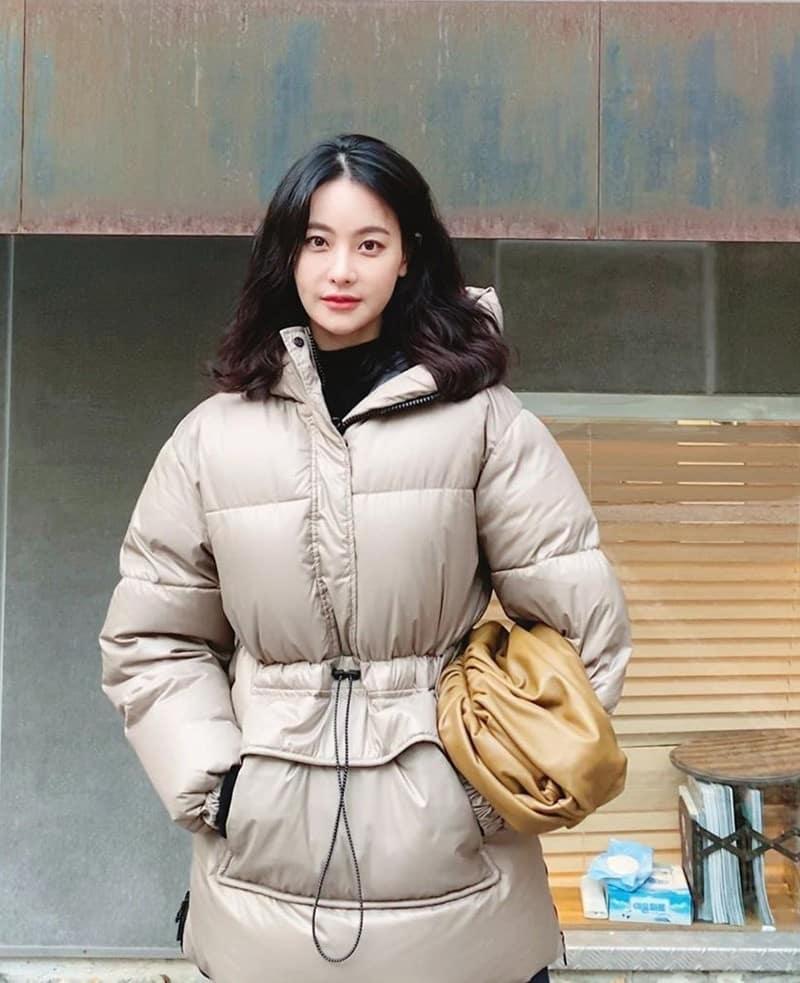 아노락 패딩_오연서 인스타그램 출처