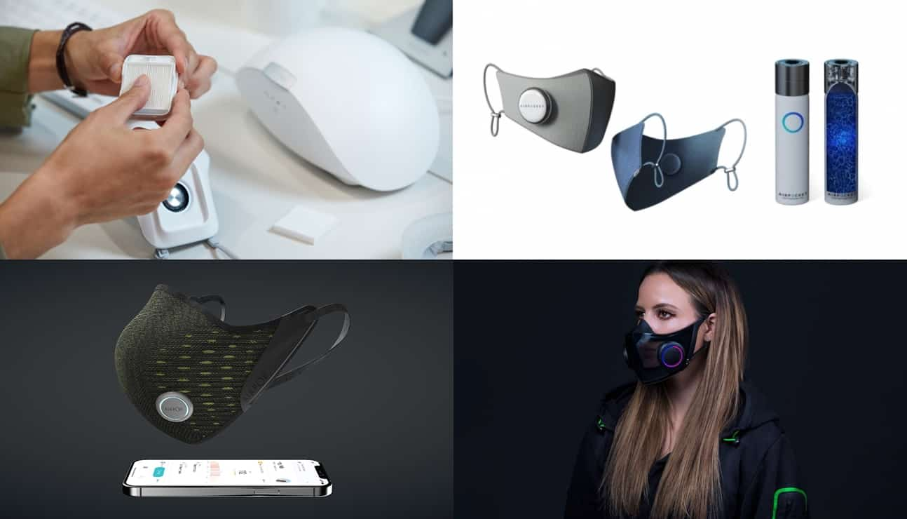 LG전자 퓨리케어 마스크 / 삼성 C랩 에어포켓 / 에어팝 액티브 플러스 / 레이저 마스크 헤이즐