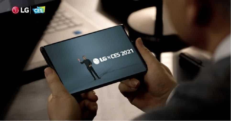 LG전자 CES2021 롤러블 공개 / 해당 제품에도 BOE 패널이 들어간다