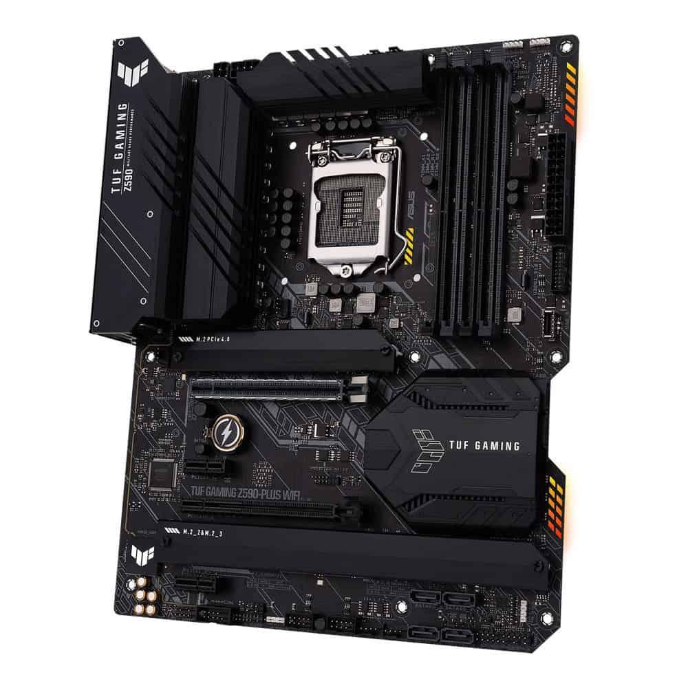 합리적인 가격의 Z590 메인보드! 에이수스 TUF Gaming Z590! 인텔 CPU를 생각한다면 고려해볼만하지 않을까?