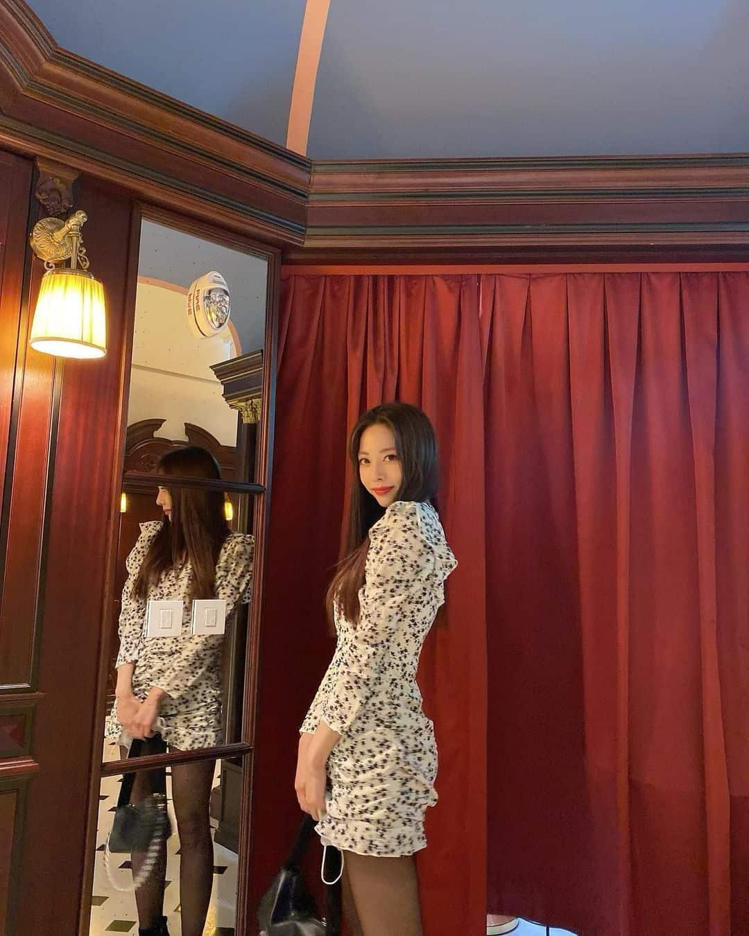 은지의 패션은 데이트룩이나 소개팅룩으로 활용하기 좋고 키 큰 녀들이 참고하기 적합한 스타일링 - 은지 인스타그램 출처