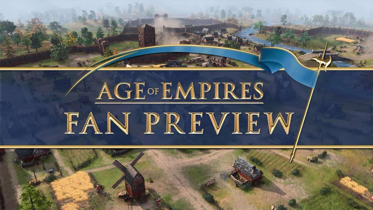 MS '에이지 오브 엠파이어: 팬 프리뷰'진행! 게임플레이 & 확장팩 계획 공개