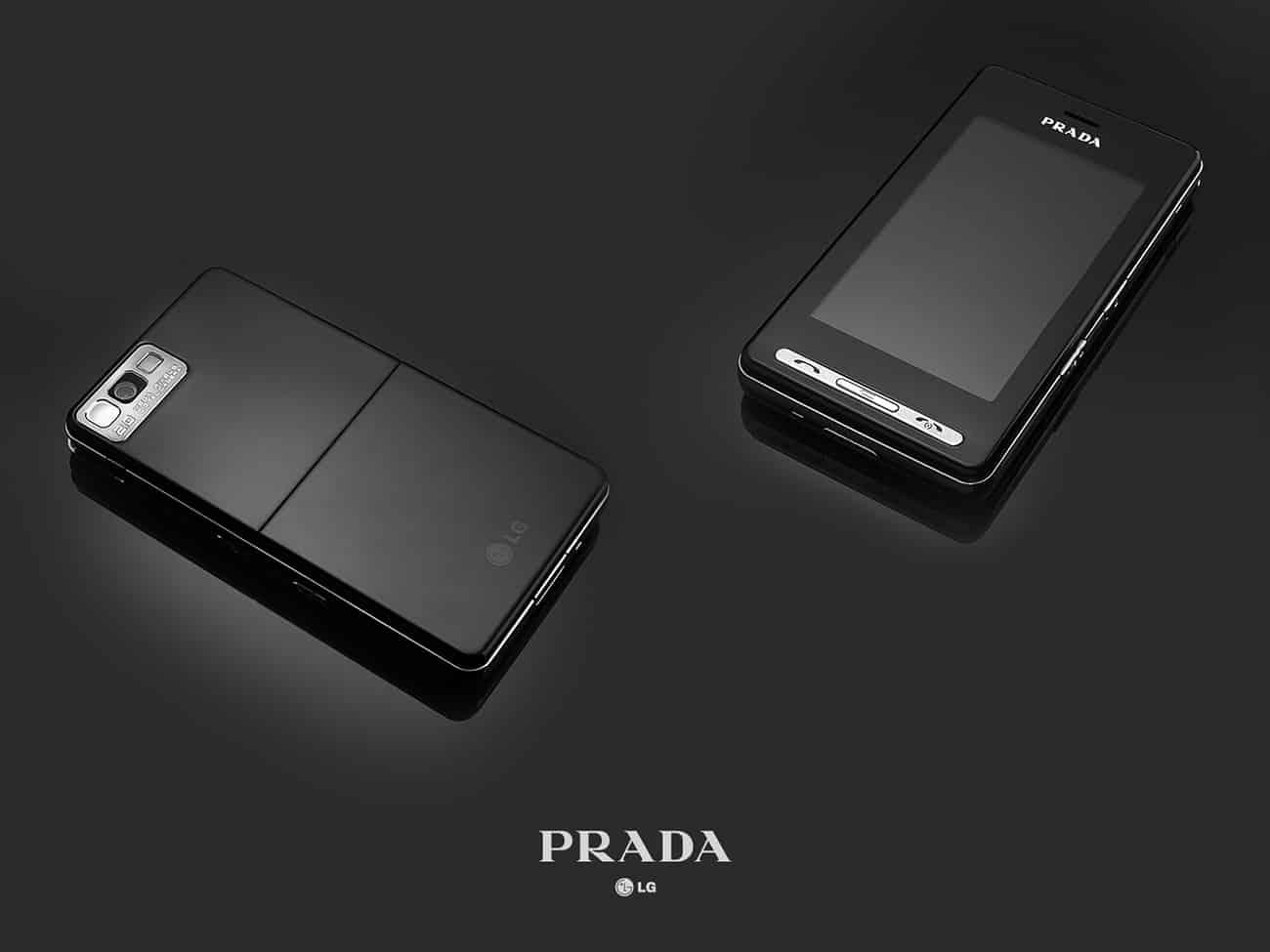 2007년에는 명품 브랜드 '프라다'와의 협업을 통해 내놓은 세계 최초 풀스크린 터치폰 '프라다폰'