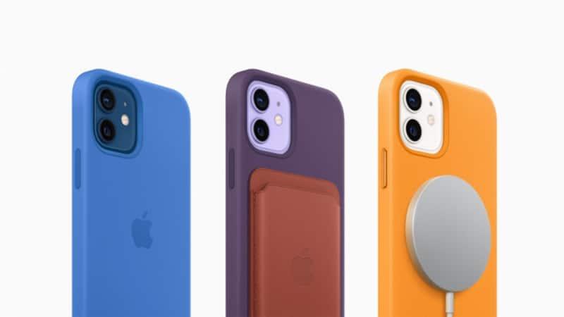 퍼플 색상이 적용된 애플 아이폰12 / 애플 제공