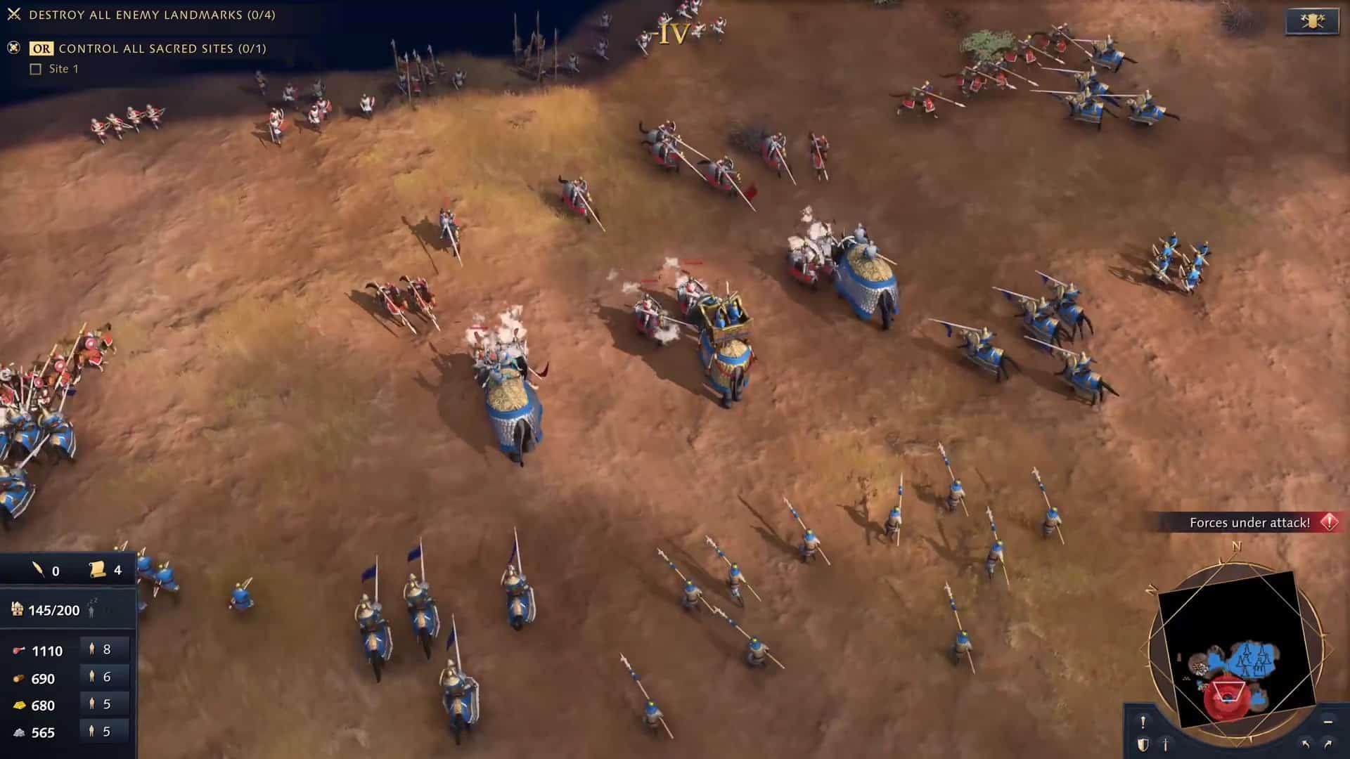 전투 코끼리의 공격을 돕는 모습 등 자세한 게임 플레이 공개 / MS 제공
