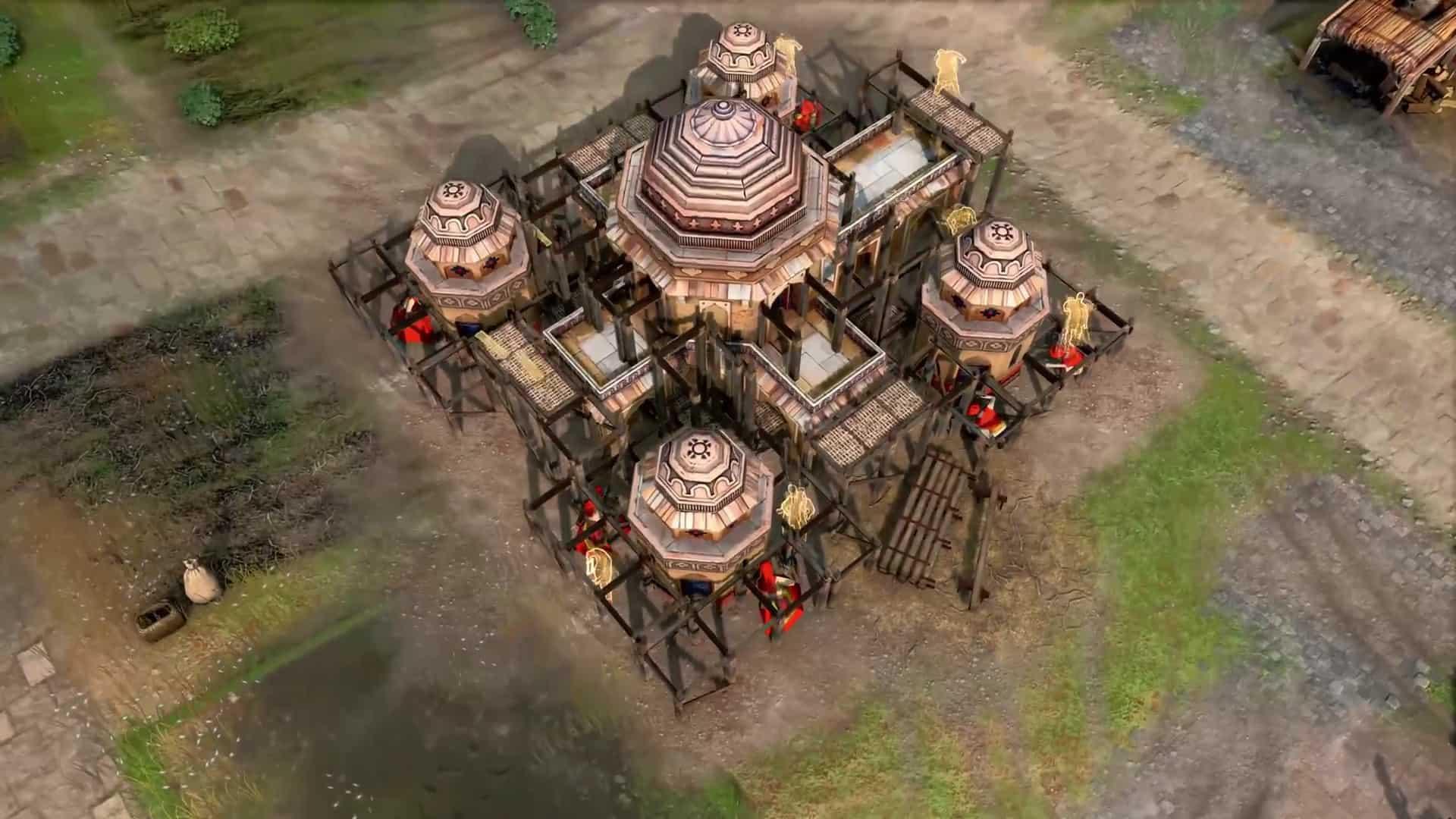 몽골과 중국 문명을 다루며, 각 문명의 특색을 드러내는 구조물 등도 공개되었다