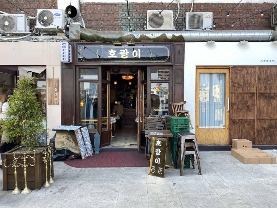 세운상가 옆에있는 힙한 커피숍도 있다