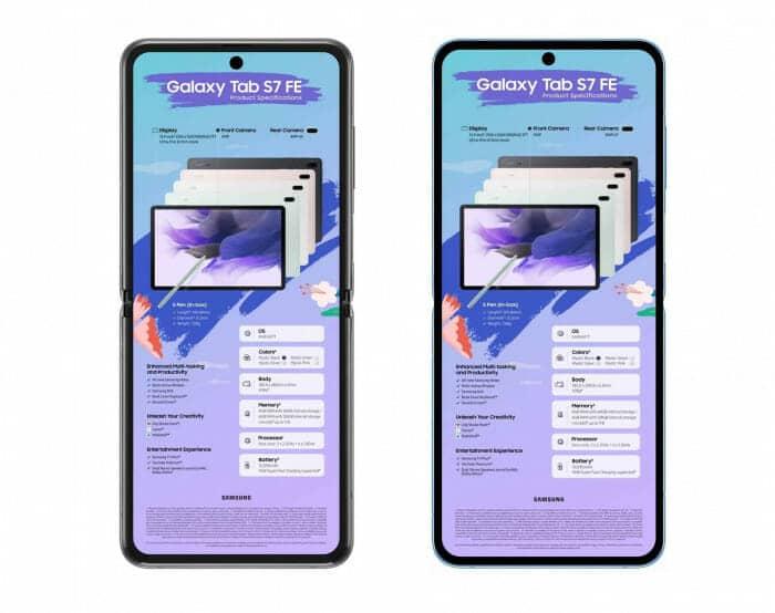 왼쪽 전작 '갤럭시Z플립2 5G', 오른쪽 출시 예정 '갤럭시Z플립3' 예상 렌더링. 사진=@UniverseIce