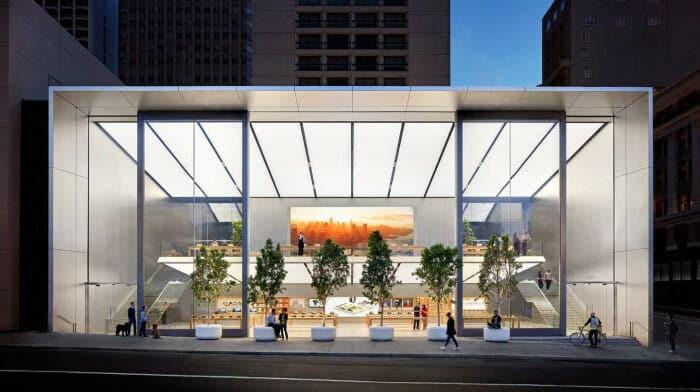 IT 메카 실리콘벨리가 있는 샌프란시스코에 위치한 <애플 유니온 스퀘어>