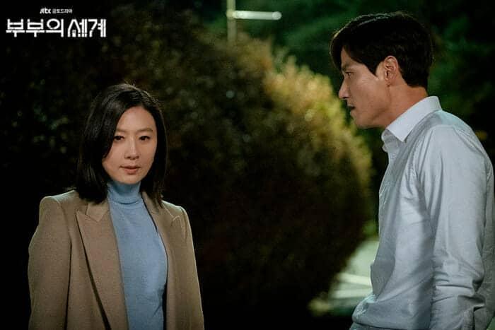 """""""사랑에 빠진 게 죄는 아니잖아!"""" / JTBC 부부의 세계 출처"""