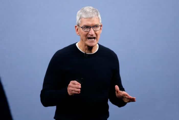 애플 주가 팀쿡 CEO 기간 10년간 1200% 올라...차익 실현 9000억 벌어