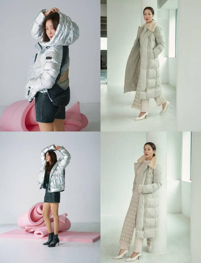 김희선, 이탈리아 프리미엄 브랜드 '페트레이'와 함께한 명품 패딩 화보 공개 (2)-tile