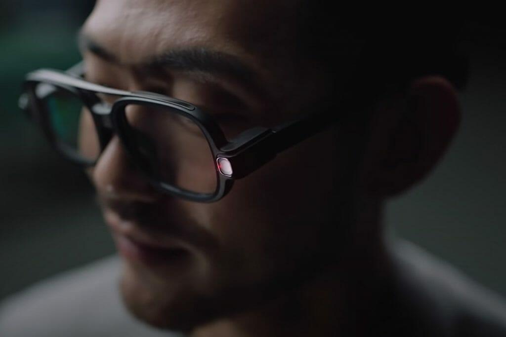 샤오미 스마트 안경 / 샤오미 유튜브 캡쳐화면
